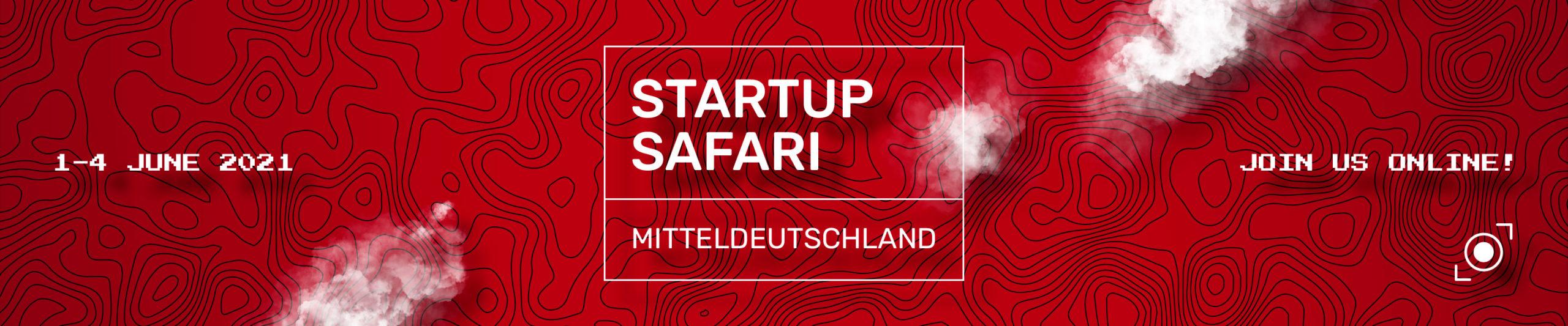 Banner - startup SAFARI Mitteldeutschland